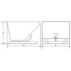 Filtr powietrza Clark CGP 16-20SH-L9121