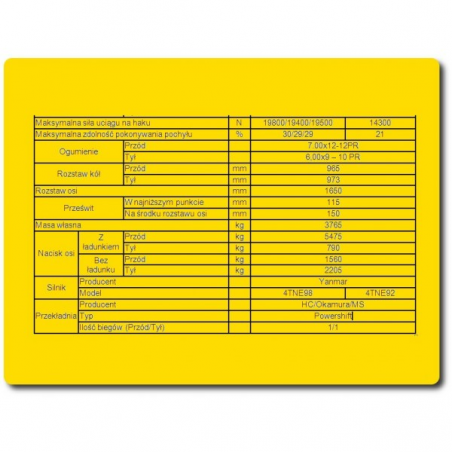 Opona pneumatyczna BKT 8,25x15 Komplet (Opona, dętka, ochraniacz ).