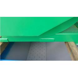 Kontener samowyładowczy 0,5m3, grubość blachy 3mm, malowany
