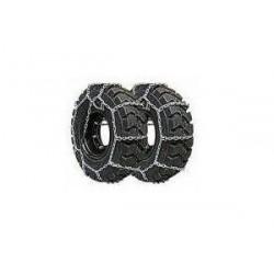 Łańcuchy śniegowe do wózków widłowych, rozmiar 200/50x10, układ drabinkowy, łańcuch kwadratowy, wykonany ze stopu utwardzonego d