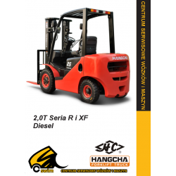 Wózek widłowy HC Hangcha CPCD20 2.0T Diesel