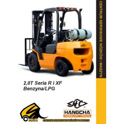 Wózek widłowy HC Hangcha CPQD20 2.0T Benzyna / LPG