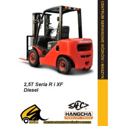 Wózek widłowy HC Hangcha CPCD25 2.5T Diesel