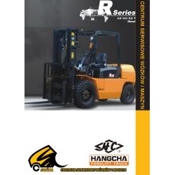 Wózek widłowy HC Hangcha CPCD40, CPCD45, CPCD50 4.0T, 4.5T, 5.0T Diesel