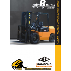 Wózek widłowy HC Hangcha CPQD40, CPQD45, CPQD50, 4.0T, 4.5T, 5.0T Benzyna / LPG