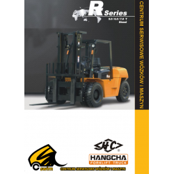 Wózek widłowy HC Hangcha CPCD50, CPCD60, CPCD70 5.0T, 6.0T, 7.0T Diesel