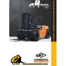 Wózek widłowy HC Hangcha CPCD80, CPCD100, 8.0T, 10.0T Diesel
