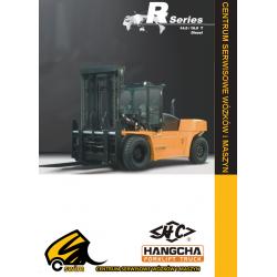 Wózek widłowy HC Hangcha CPCD140, CPCD160, 14.0T, 16.0T Diesel