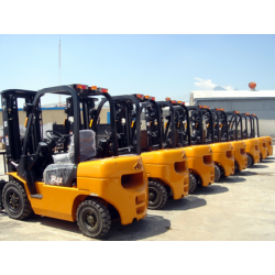 Chiński wózek widłowy Hangcha CPCD25N 2,5T Diesel